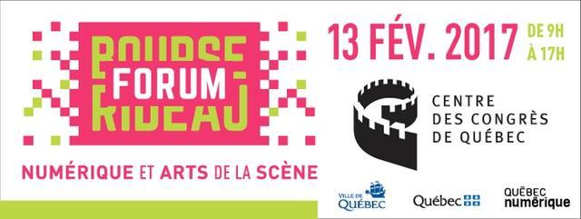 Forum Rideau: numérique et Arts de la Scène