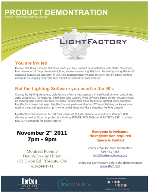 LightFactoryDemo