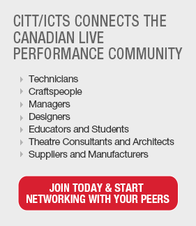 CITT connects the Canadian Live Performance Community.Join today & start networking with your peers